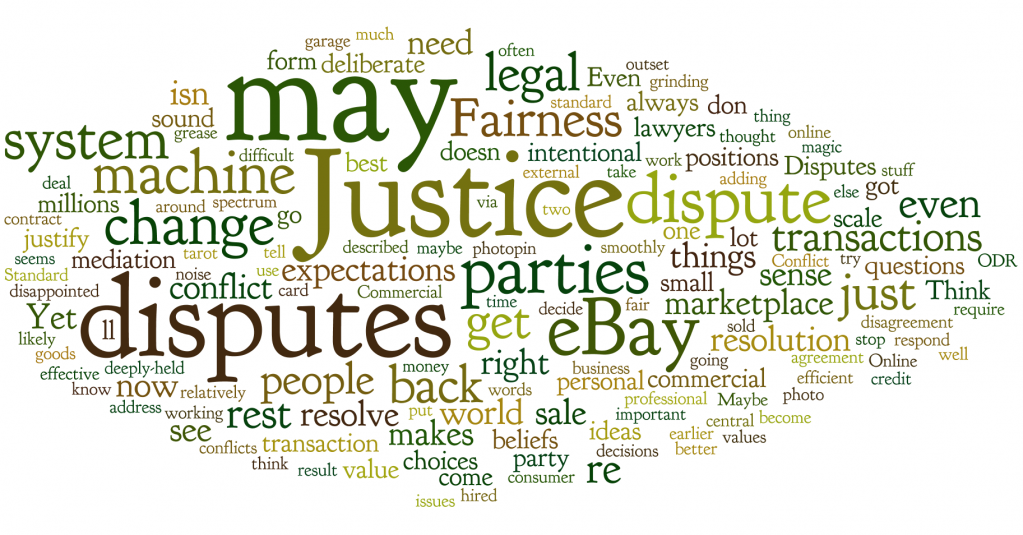 Word Cloud from Jeff Bean's Blog